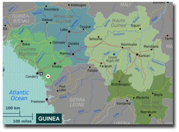 Guinea Locations