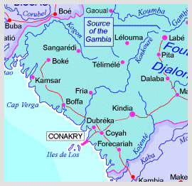 Conakry Map
